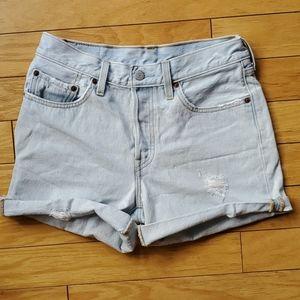 Levis button up shorts sz 27 []
